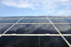 Alternative energy photovoltaic solar panels Royalty Free Stock Photography