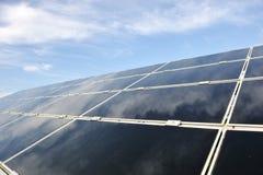 Alternative energy photovoltaic solar panels Stock Image