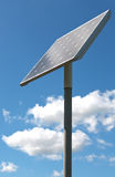 Alternative energy - solar panel on a poll Stock Photography