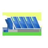 Alternative Energy Solar Panels Stock Photos