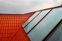 Alternative energy- solar system royalty free stock images