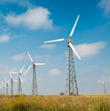 Alternative energy source Royalty Free Stock Photos