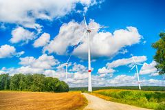 Alternative energy source stock photography