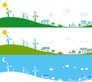 Alternative energy sources Royalty Free Stock Photography