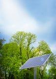 Alternative energy sources. Solar panels. Royalty Free Stock Photos