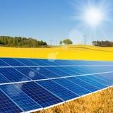 Alternative energy sources Stock Photo