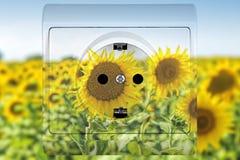 Alternative energy sources Stock Image