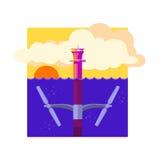 Alternative Energy Tidal Power Royalty Free Stock Images