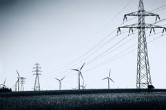 Alternative energy. Royalty Free Stock Photography