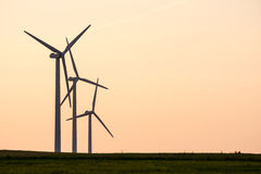 Alternative Energy with Wind Power Stock Photos
