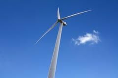 Alternative energy wind turbine Stock Photos