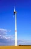 Alternative energy with wind turbine Stock Image