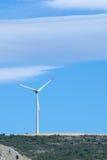 Alternative energy - wind turbine Royalty Free Stock Images