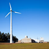 Alternative energy wind turbines  Royalty Free Stock Image