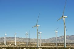 Alternative Energy Wind Turbines Stock Image