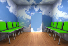 Alternative Exit From A Room Stock Photography