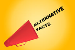 Alternative Facts concept Stock Image