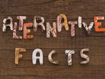 Alternative Facts concept Royalty Free Stock Image