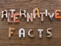 Alternative Facts concept Royalty Free Stock Photography