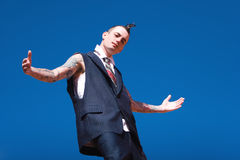 Alternative fashion man Royalty Free Stock Photo