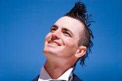 Alternative fashion man Stock Images