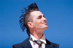 Alternative fashion man Stock Photo