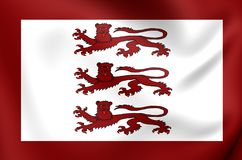 Alternative Flag of Llywelyn ap Gruffydd Royalty Free Stock Images