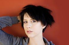 Alternative girl portrait Stock Image