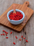Alternative health care and oriental food ingredients dried Tibe Royalty Free Stock Image