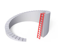 Alternative ladder Royalty Free Stock Photo