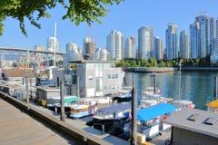Alternative Living in Vancouver, Canada Stock Photo