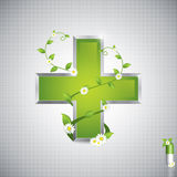Alternative medication concept Royalty Free Stock Image