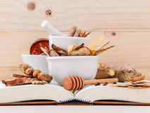 Alternative Medicinal , Chinese herbal medicine  for healthy . Royalty Free Stock Photo