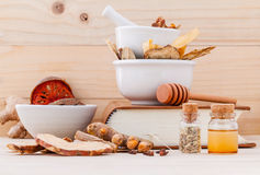 Alternative Medicinal , Chinese herbal medicine  for healthy. Royalty Free Stock Photos