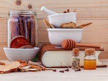 Alternative Medicinal Chinese herbal medicine  for healthy . Stock Photos