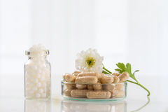 Alternative medicine concept Royalty Free Stock Image