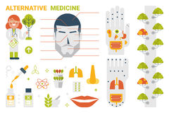 Alternative Medicine Concept Stock Photography