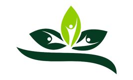 Alternative Medicine Healthy. Logo Design Template Vector Stock Photos