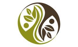 Alternative Medicine Healthy. Logo Design Template Vector Royalty Free Stock Photos