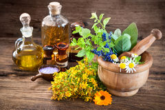 Alternative medicine, Herbal medicine Royalty Free Stock Photography