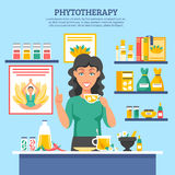 Alternative Medicine Illustration Royalty Free Stock Photography