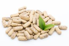 Alternative Medicine. Vitamin capsules. Homeopathic supplement. Stock Images