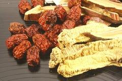 Alternative olistiche orientali della medicina Immagine Stock