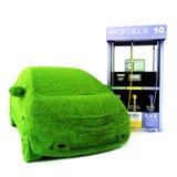 Alternative power concept eco car. Stock Photos