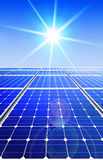 Alternative renewable solar energy Royalty Free Stock Image
