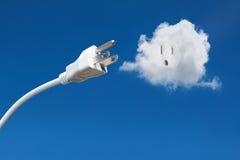 Alternative saubere Energie - Wind-Leistung stockfotografie