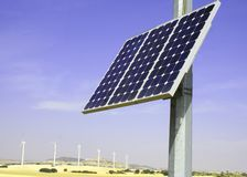 Alternative Solar Energies Stock Photo
