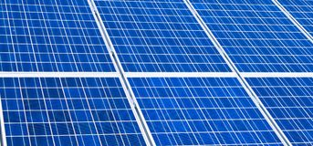 Alternative solar energy. stock photography