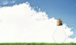 Alternative solar energy concept Royalty Free Stock Photos