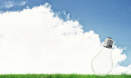 Alternative solar energy concept Stock Image